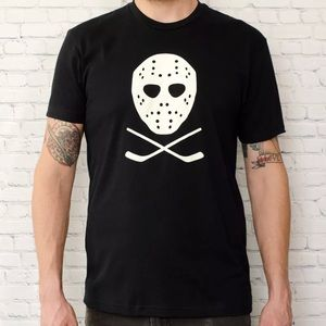 f9e098d8 Next Level Apparel Shirts | Hockey Mask And Sticks Unisex Shirt ...